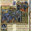 La prise de Damiette par les Croisés