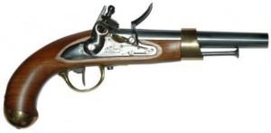 Pistolet à poudre noire
