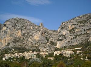 Le village de Moustiers