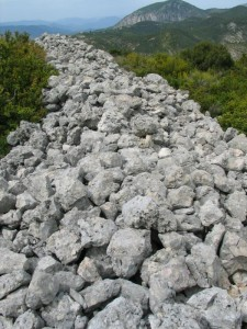Vestiges d'oppidum