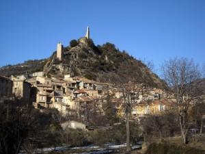 Le village et les tours