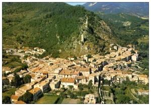 Le village de Volonne