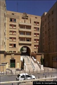 Façade de l'immeuble Castel