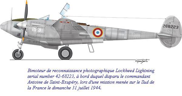 Image result for antoine de saint exupery p38
