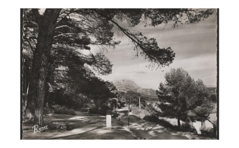 En suivant la Route Cezanne, route classée